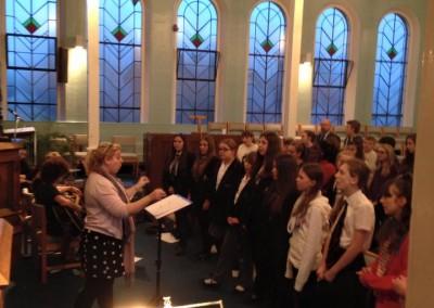 Senior Choir Rehearsal 2014